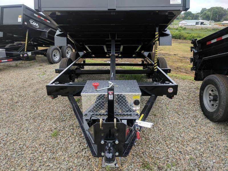 NEW 2018 CAM 6x12 Lo Pro Equipment Dump