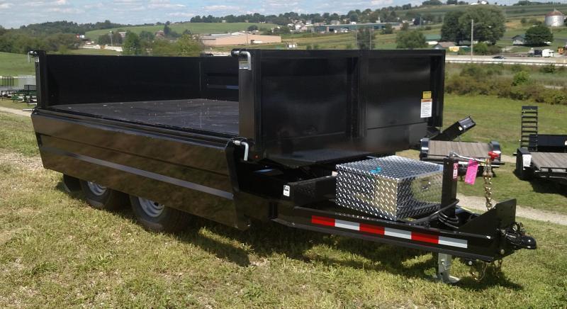 NEW 2019 Cam 6X10 Deckover Dump w/ Drop/Removable Sides