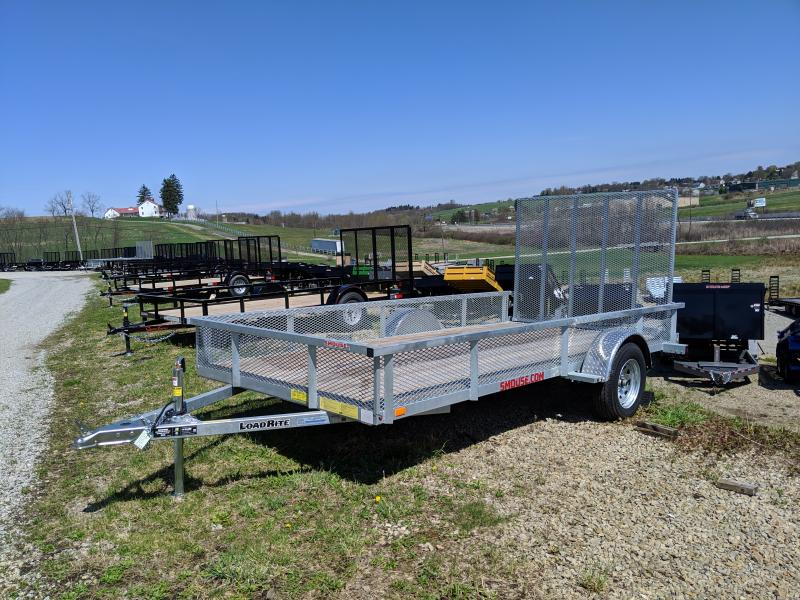 NEW 2019 Load Rite 6X14 Utility Trailer w/ Mesh Sides & Spring Assist Gate in Ashburn, VA