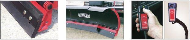 NEW Hiniker 8' High Performance Poly Scoop Snow Plow w/ Trip Edge