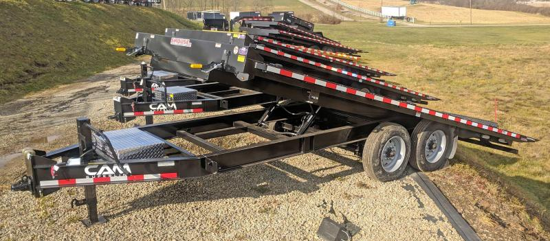 NEW 2019 Cam 20' HD Deckover Power Full Tilt Trailer