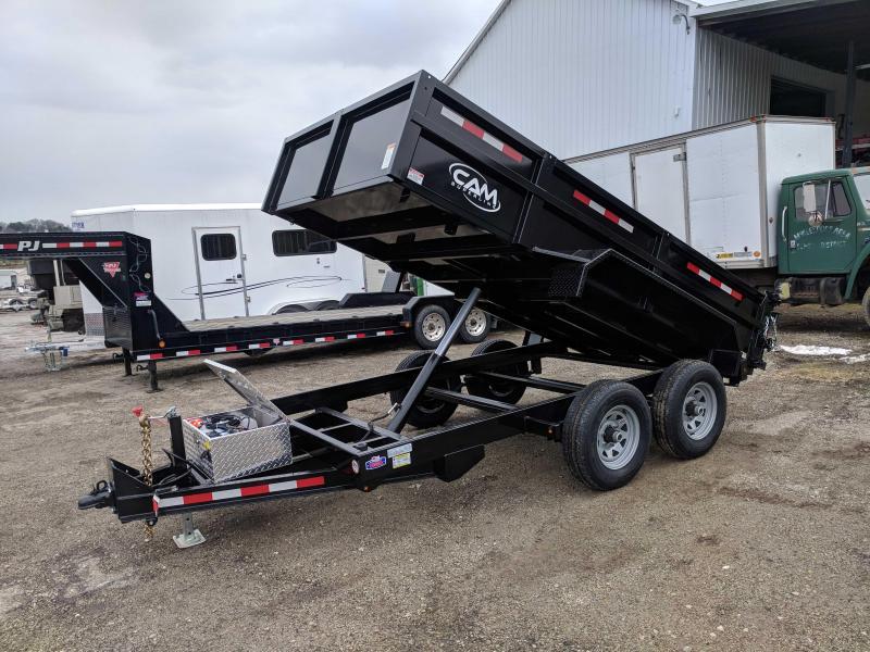NEW 2020 CAM 6x12 Lo Pro Equipment Dump