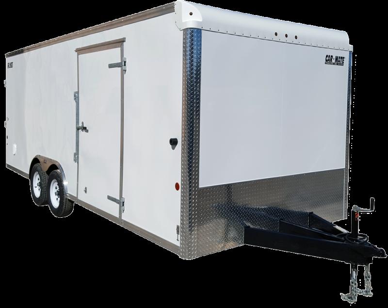 NEW 2019 Car Mate 8x18 Custom Cargo Trailer w/ Ramp