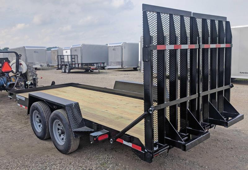 NEW 2019 CAM 16' WARRIOR Equipment Trailer w/ Landscape Ramps