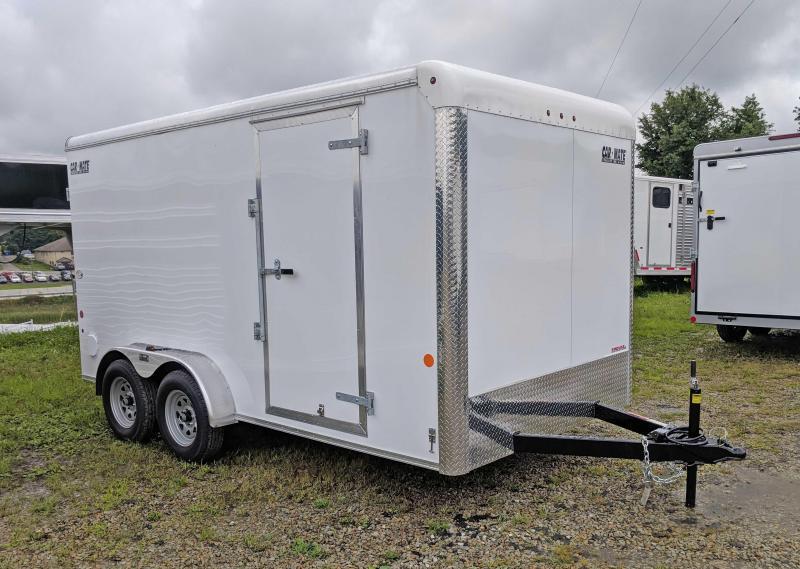 NEW 2019 Car Mate 7x14 HD Custom Enclosed Cargo w/ Barn Doors