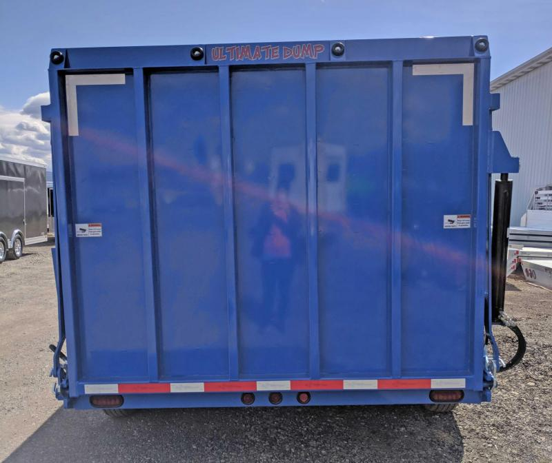 "NEW 2018 B-Wise 6'10"" X 14' HD ""ULTIMATE"" Dump Trailer"