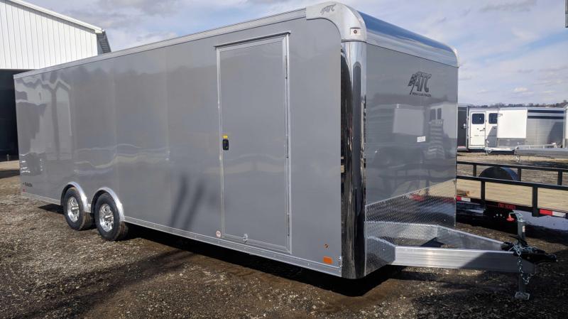 NEW 2019 ATC 8.5 x 24 HD Raven Car Hauler w/ Ramp Door & Premium Escape Door