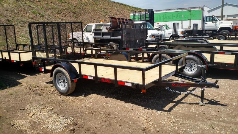 NEW 2019 Quality 6X12 PRO Utility Trailer w/ Spring Assist Gate & Spare Tire Mount