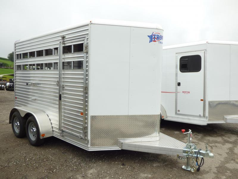 2018 Frontier COLT LS Horse/Stock Combo Horse Trailer