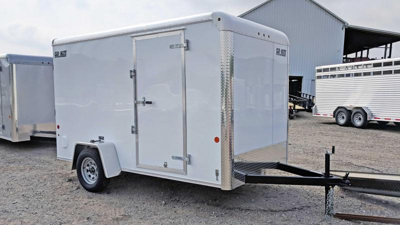 NEW 2019 Car Mate 6x12 Custom Cargo Trailer w/ Ramp Door in Ashburn, VA