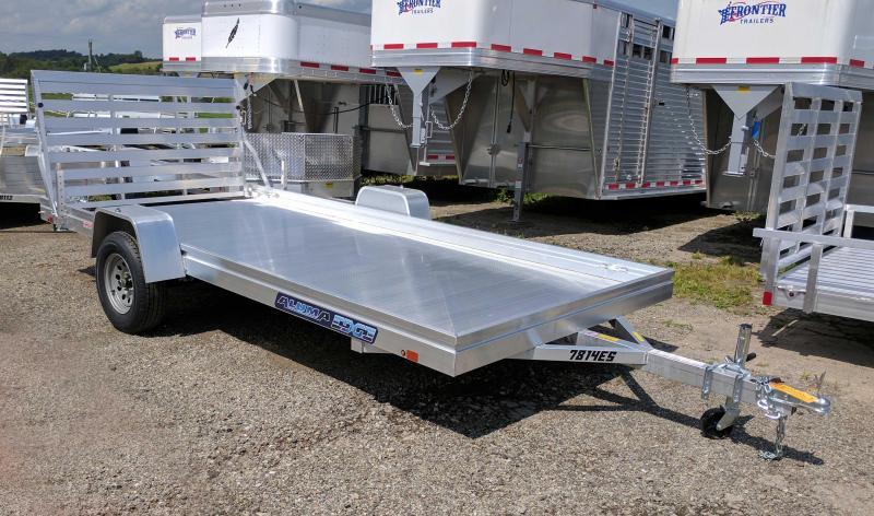 "NEW 2019 Aluma 6'6"" X 14 ""EDGE"" Series Utility w/ Aluminum Deck"