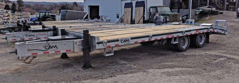 NEW 2019 CAM 20+5 HD GALVANIZED Deckover Tagalong Equipment Hauler w/ Air Brakes in Ashburn, VA
