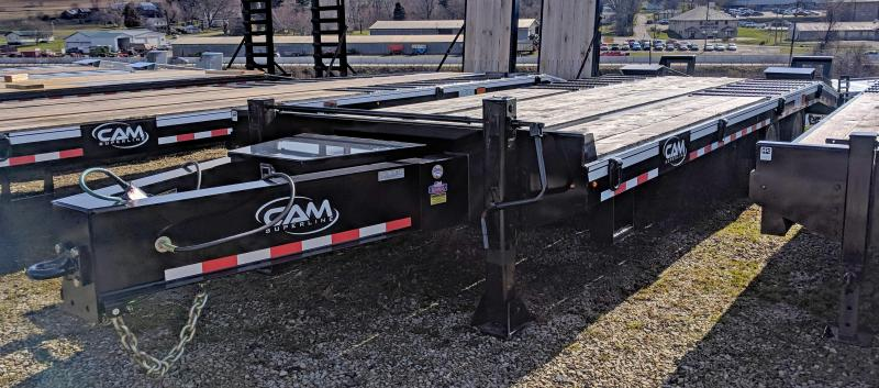 NEW 2019 CAM 20+5 HD Deckover Tagalong Equipment Hauler w/ Air Brakes