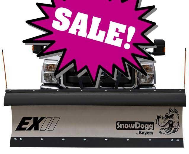 SALE!!! NEW SnowDogg 9' II Extreme Duty Stainless Steel Snow Plow- 1 LEFT IN STOCK