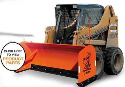 NEW ScoopDogg 10' Skid Steer Pusher- 2 LEFT IN STOCK