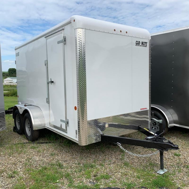 2020 Car Mate Trailers CM612CC-HD - 6'W Tandem Axle Custom Cargo Trailer Enclosed Cargo Trailer