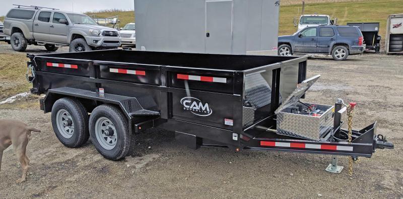 NEW 2019 CAM 6x10 Lo Pro Dump Trailer