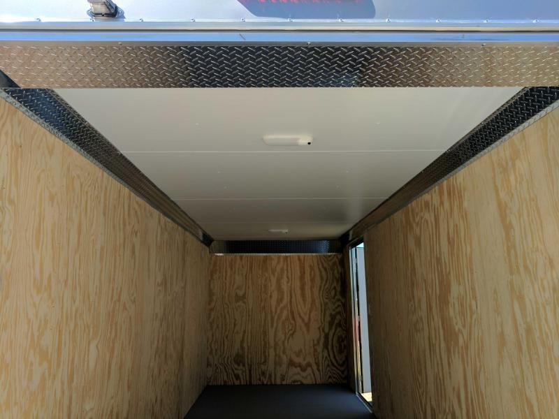 NEW 2019 Car Mate 7X18 HD Custom Enclosed Cargo Trailer w/ Ramp Door