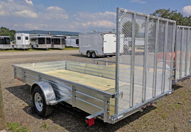"NEW 2019 Load Rite 6X14 Utility Trailer w/ Spring Assist Gate & 14"" Solid Sides"