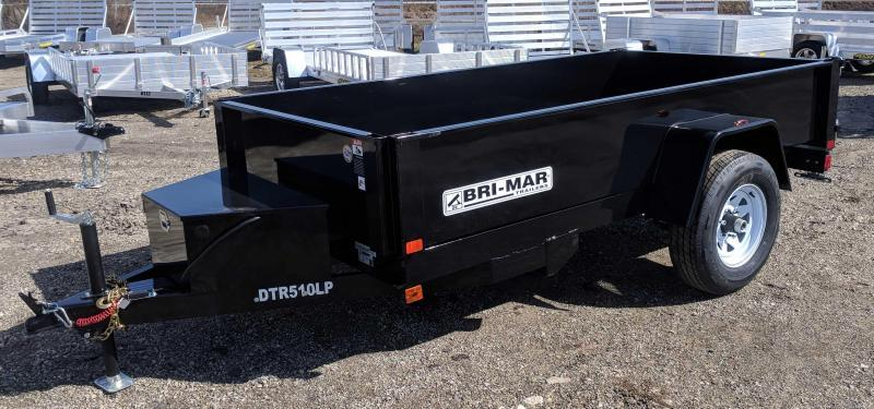NEW 2018 Bri-Mar 5X8 Lo Pro Dump Trailer