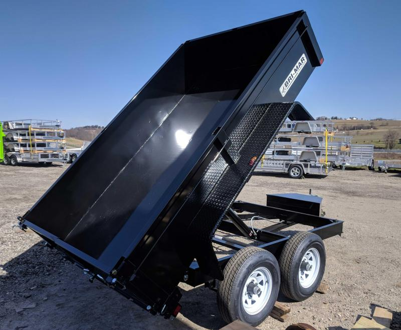 NEW 2019 Bri-Mar 6x10 Lo Pro Dump Trailer (7K)
