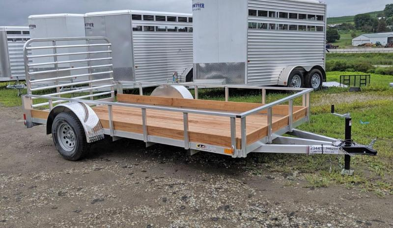 NEW 2020 Legend 6x12 Aluminum Low Side Utility Trailer