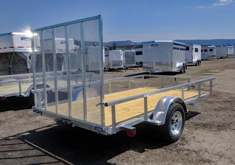 NEW 2018 Load Rite 6X12 Utility Trailer w/Spring Assist Gate
