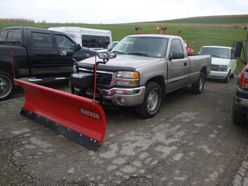 NEW Hiniker 7.5' HD Full Trip Conventional Steel Snow Plow