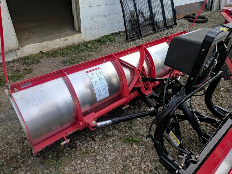 NEW Hiniker 7' Tilt-Lift Stainless Steel Snow Plow
