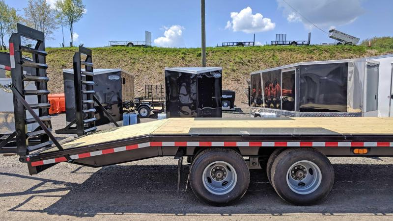 NEW 2018 Quality 20' + 5'  PRO Tandem Dual Deckover Tagalong (Pintle)