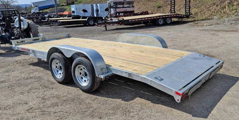 NEW 2019 Load Rite 18' GALVANIZED Car Hauler w/ Underbody Ramps in Ashburn, VA