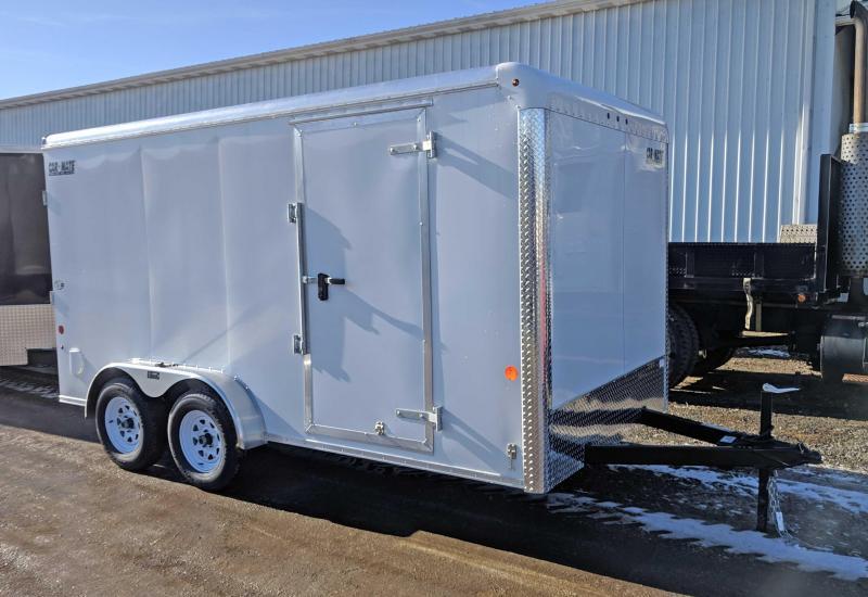 NEW 2018 Car Mate 7x14 HD Custom Enclosed Cargo w/Ramp