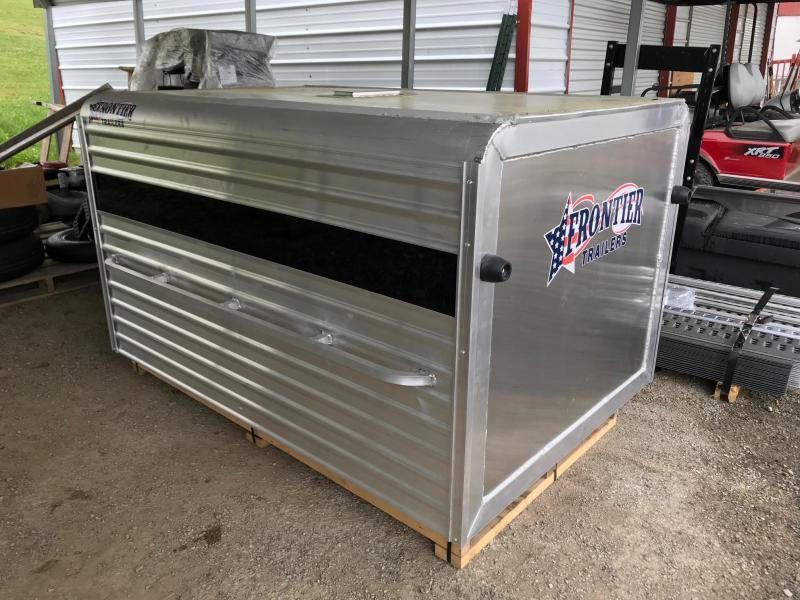 NEW 2018 Frontier 6' Aluminum Small Livestock Topper