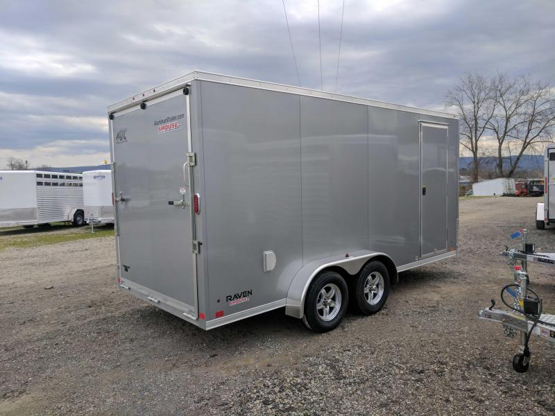 "NEW 2019 ATC 7x16 Raven Cargo Trailer w/ Ramp & 12"" Additional Height"