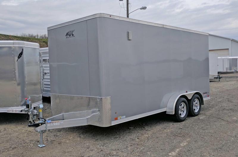 "NEW 2019 ATC 7x16 Raven Cargo Trailer w/ Ramp & 12"" Additional Height"