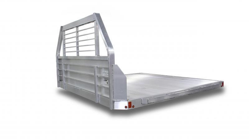 """NEW Aluma 96"""" x 10'5"""" Dual Wheel Aluminum Flat Bed"""