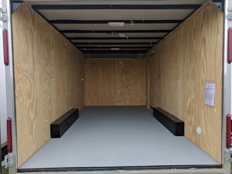 NEW 2019 Car Mate 8.5 x 16 HD Custom Cargo Trailer w/ Rear Barn Doors