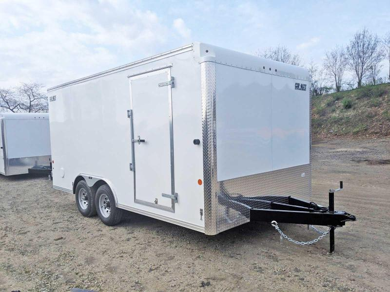 NEW 2019 Car Mate 8.5 x 16 HD Custom Cargo Trailer w/ Rear Barn Doors in Ashburn, VA