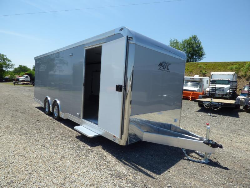2019 ATC 24' Aluminum Car Hauler w/ Premium Escape Door & CH405 Package