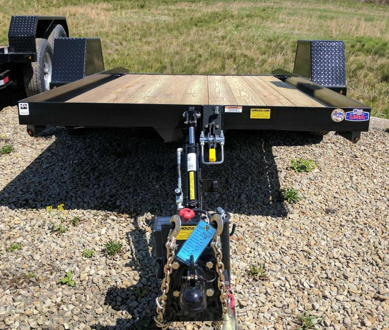NEW 2019 Cam 6x12 Single Axle Tilt Equipment Trailer