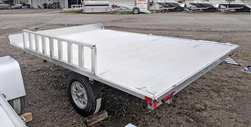 NEW 2019 Aluma 10' (2 Place) ATV Trailer w/ Side Ramps