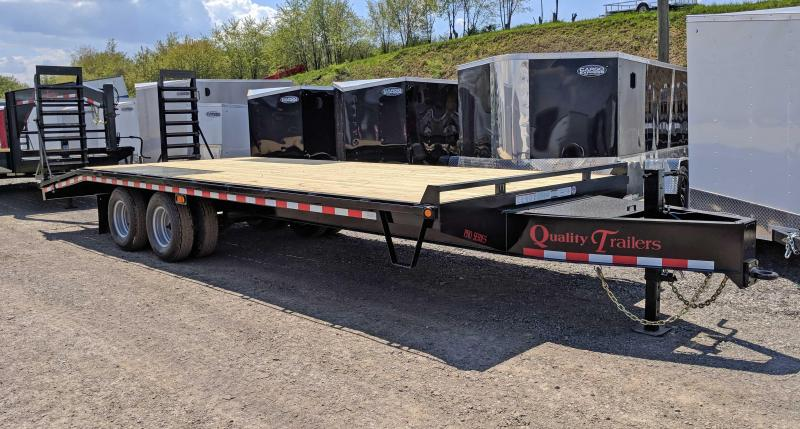 NEW 2020 Quality 20+5 HD PRO Deckover Tagalong Trailer w/Spring Assist Ramps