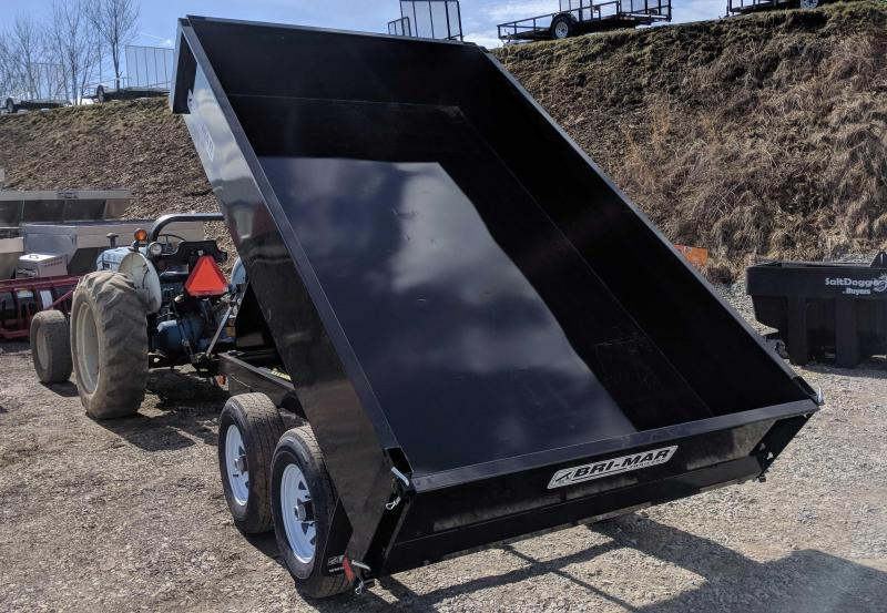 NEW 2019 Bri-Mar 6x10 Deckover Dump Trailer (7K)