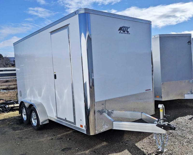 "NEW 2019 ATC 7x14 Raven Cargo Trailer w/ Ramp Door & 12"" Additional Height"