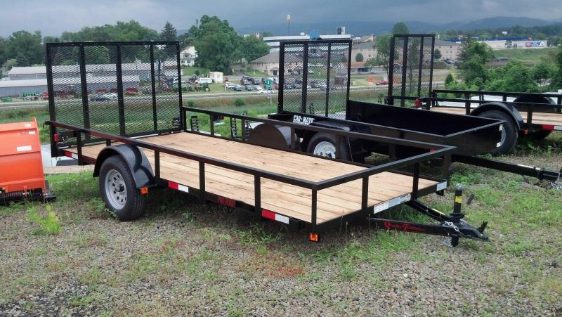 NEW 2019 Quality 6X14 PRO Utility Trailer w/ Spring Assist Lay/Flat Gate