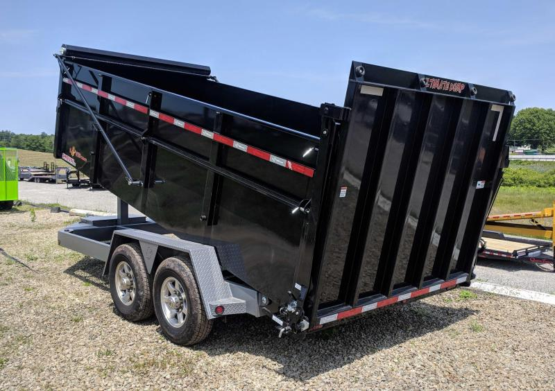 "NEW 2019 B-Wise 6'10"" x 16 HD "" ULTIMATE"" Dump Trailer in Ashburn, VA"