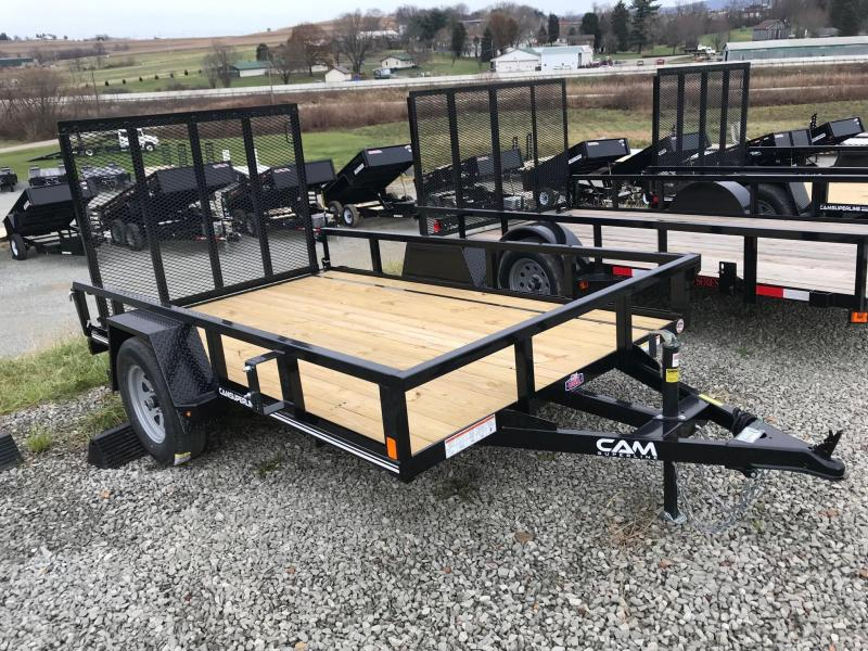 NEW 2019 Cam 6x10 Utility Trailer w/Spring Assist Lay Flat Gate in Ashburn, VA