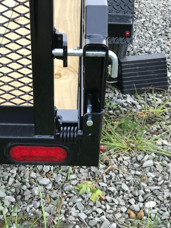 NEW 2019 Cam 6x10 Utility Trailer w/Spring Assist Lay Flat Gate