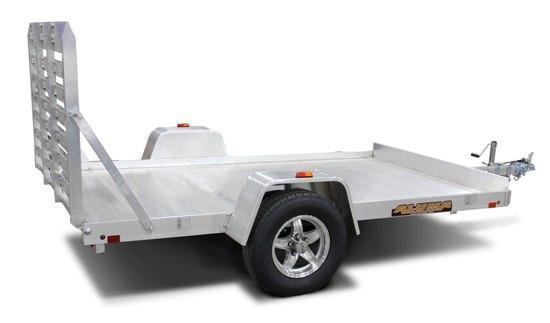 NEW 2019 Aluma 6x10 HD Aluminum Utility Trailer