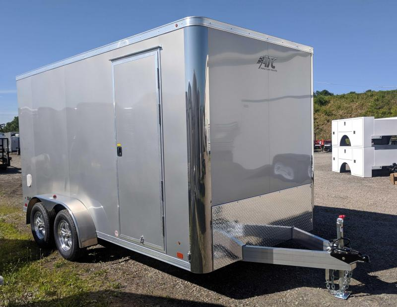 "NEW 2019 ATC 7x16 Raven Cargo Trailer w/ Ramp Door (12"" Add'l Height)"